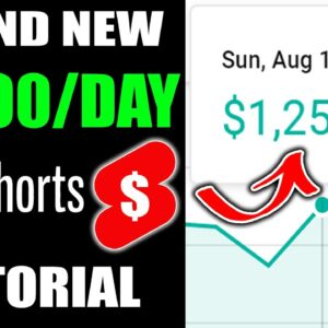 How To Make Money With YouTube Shorts   The BEST YouTube Shorts Tutorial To Make $1000 /Day