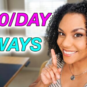 3 Ways To Make Money On Social Media Without Showing Your Face! ($150/Day)