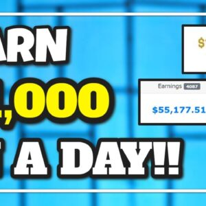 Earn $1,000 In a DAY, With PROOF!! Available Worldwide