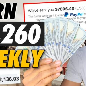 Earn $1,260 Weekly To Paypal For FREE! ($572,136.03 Paid) | Make Money Online