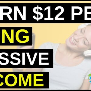 Earn Money Listening To Music, Free, Easy, FAST!