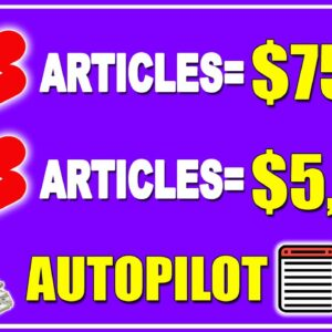 How To Make Money With YouTube Shorts By Turning ARTICLES Into YOUTUBE SHORT Videos!