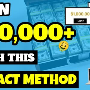 Earn $40,000 Online Using This EXACT Method Step By Step