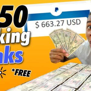 NEW WEBSITE PAYS $650 PAYPAL MONEY TO CLICK LINKS! (Make Money Online)