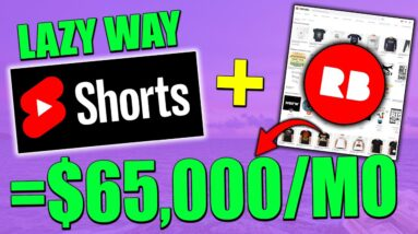 How To Make Money On YouTube Shorts WITHOUT Making ANY Videos - The LAZY Way (Full Tutorial)